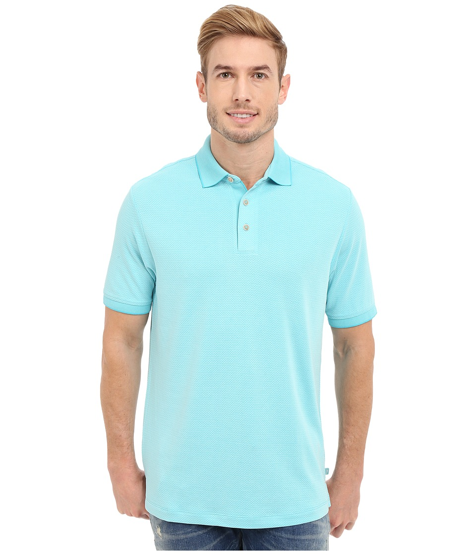 Tommy Bahama - New Ocean View Polo (Baja Breeze) Men's Clothing