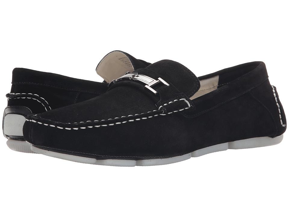 Calvin Klein - Magnus (Black Calf Suede) Men's Shoes