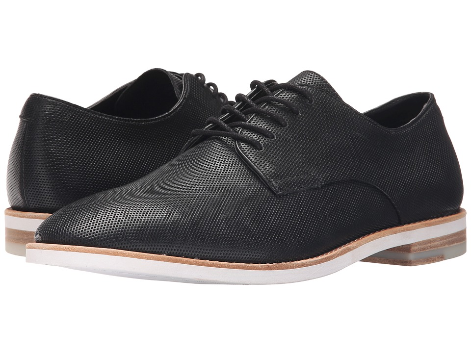 Calvin Klein - Agusto (Black Diamond Perf) Men's Lace up casual Shoes