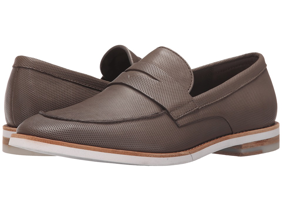 Calvin Klein Angus Taupe Diamond Perf Mens Slip on  Shoes