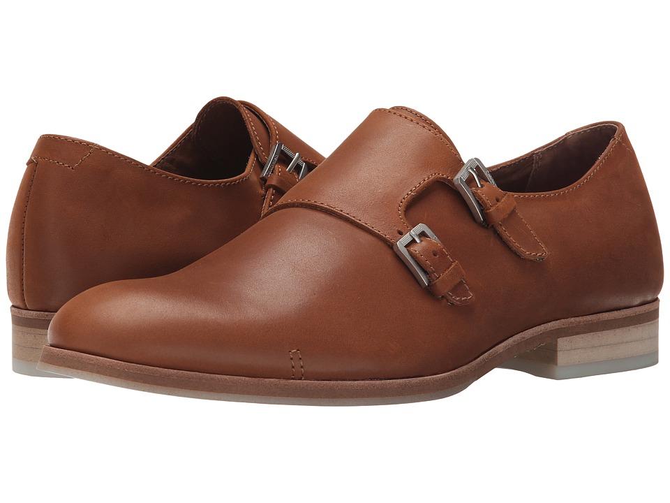 Calvin Klein Faber (Tan Washed Leather) Men