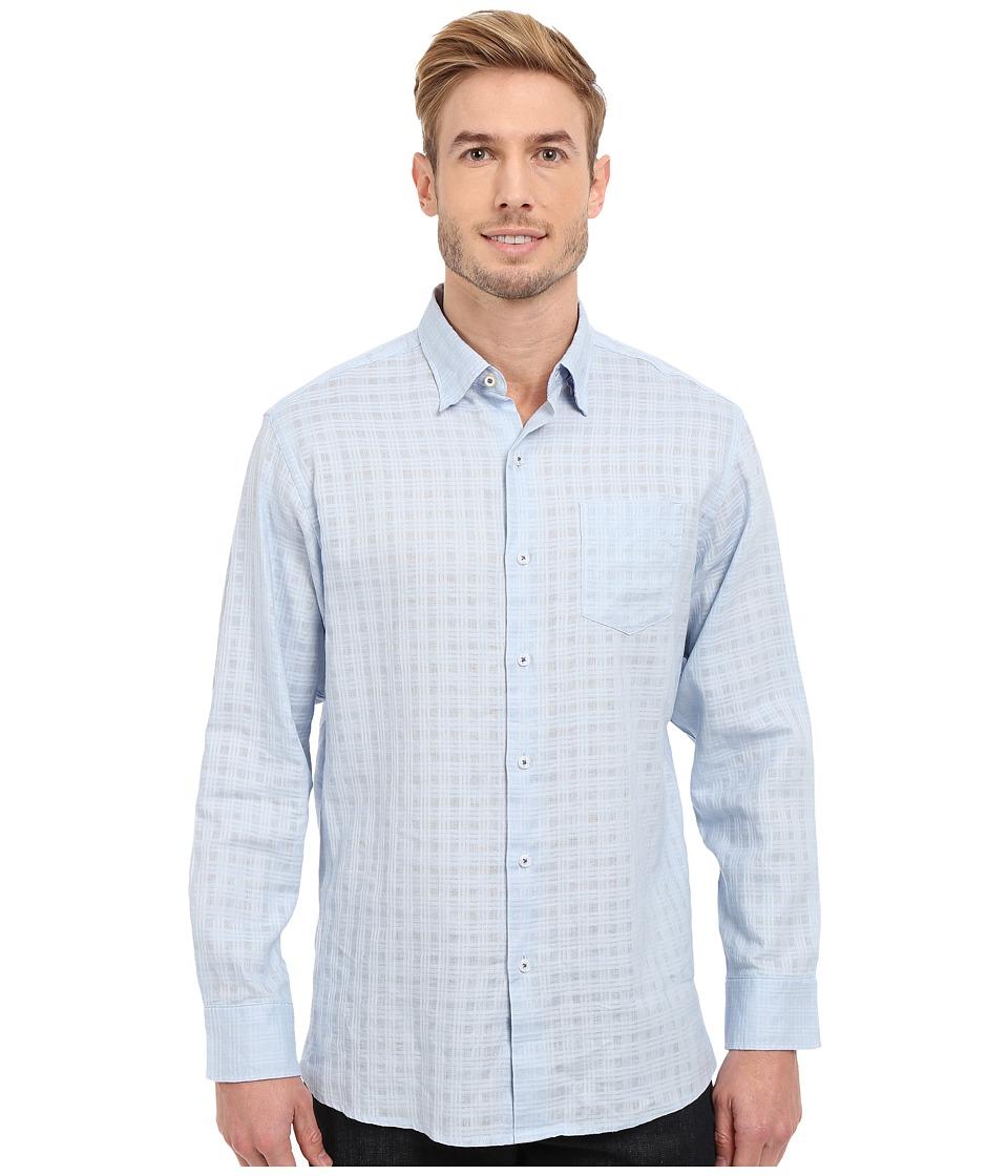 Tommy Bahama - Sydney Squares Shirt (Light Mistral) Men's Clothing