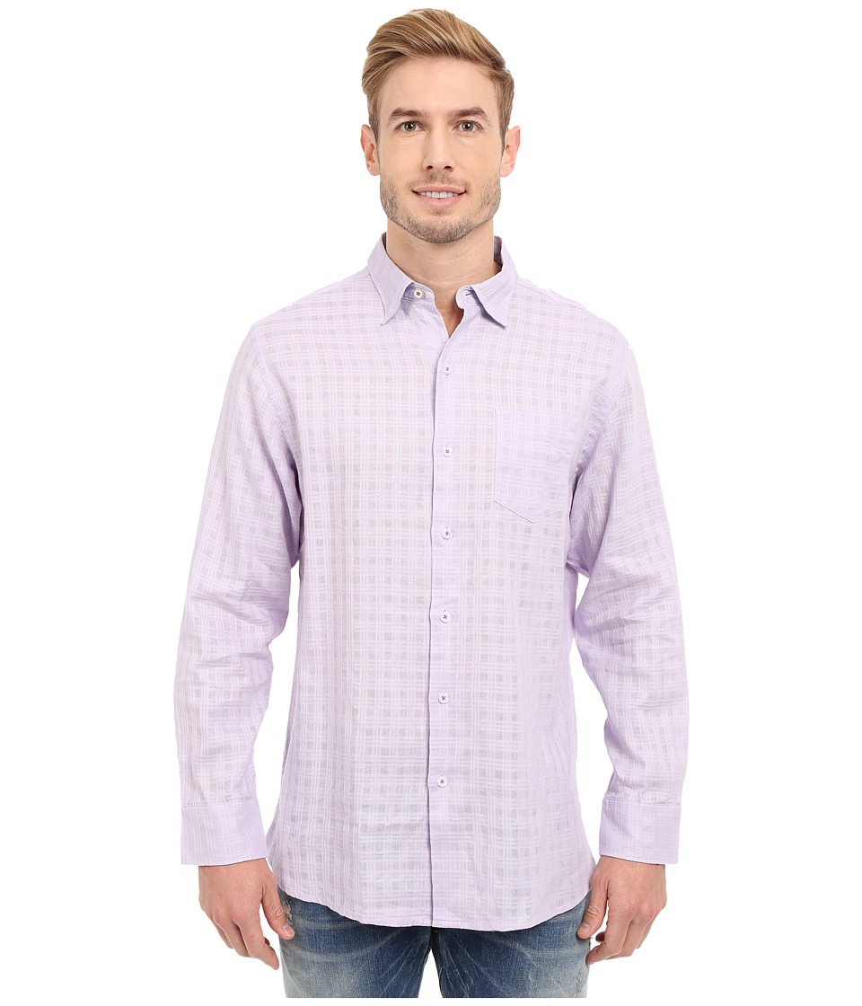 Tommy Bahama - Sydney Squares Shirt (Loco Laven) Men's Clothing
