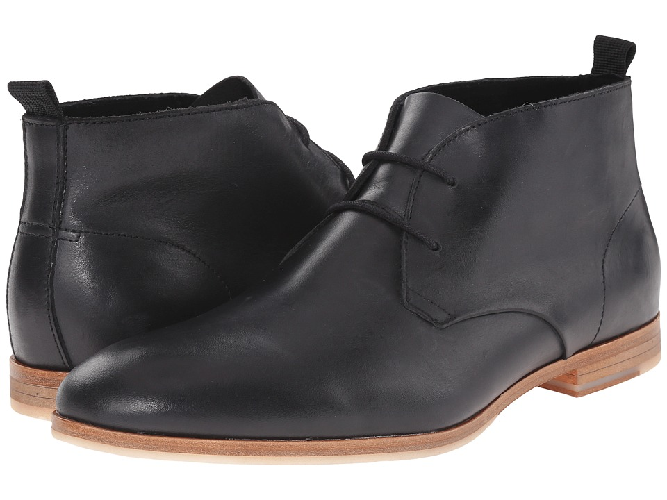 Calvin Klein - Farnel (Black Washed Leather) Men