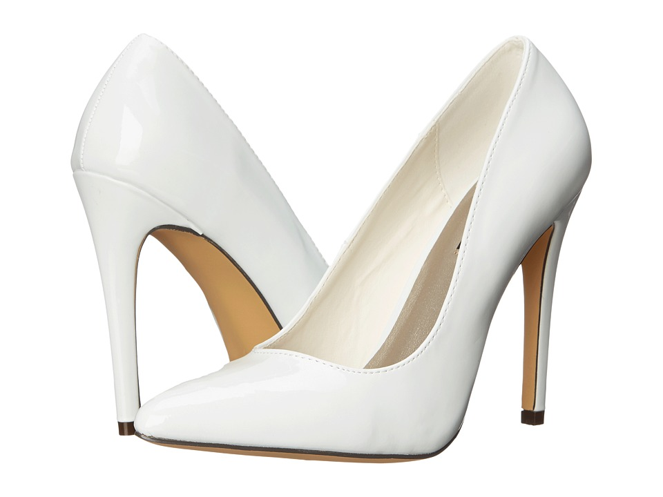 Michael Antonio - Lamiss - Patent (White Patent) High Heels