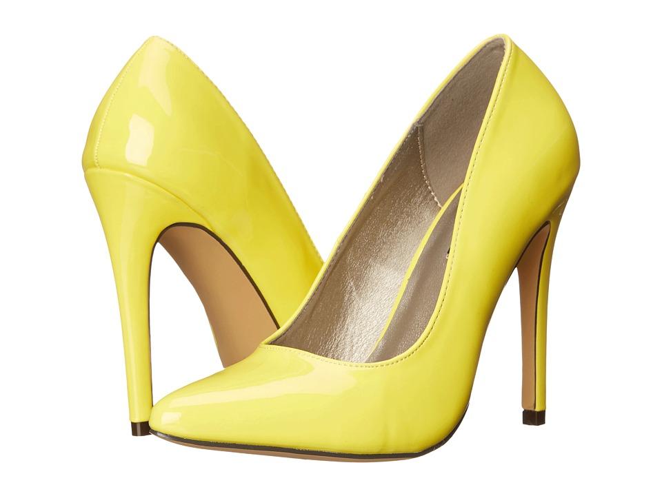 Michael Antonio - Lamiss - Patent (Yellow Patent) High Heels