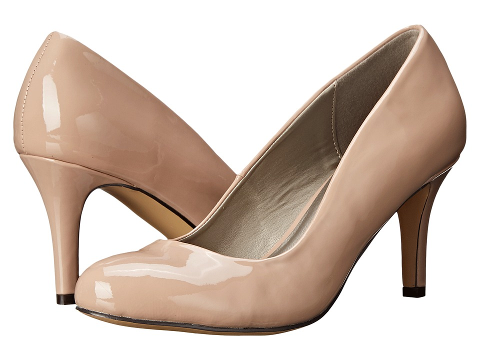 Michael Antonio - Finnea - Patent (Nude Patent) High Heels