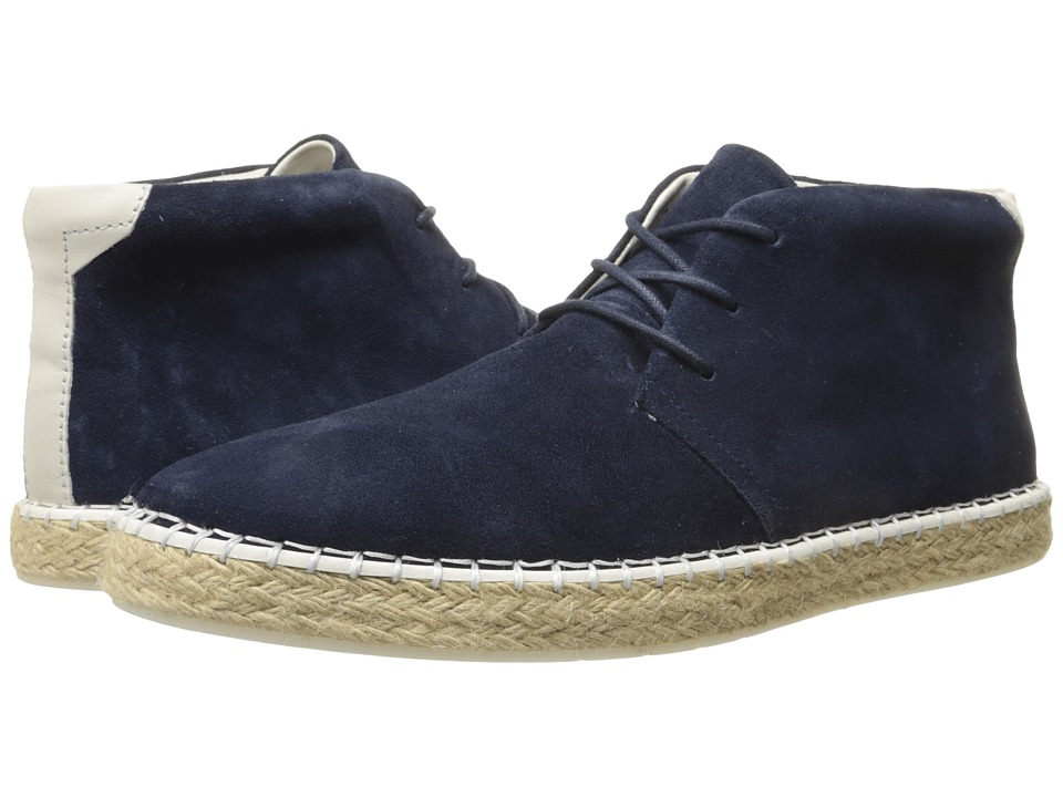 Calvin Klein - Price (Dark Navy Calf Suede) Men's Lace-up Boots