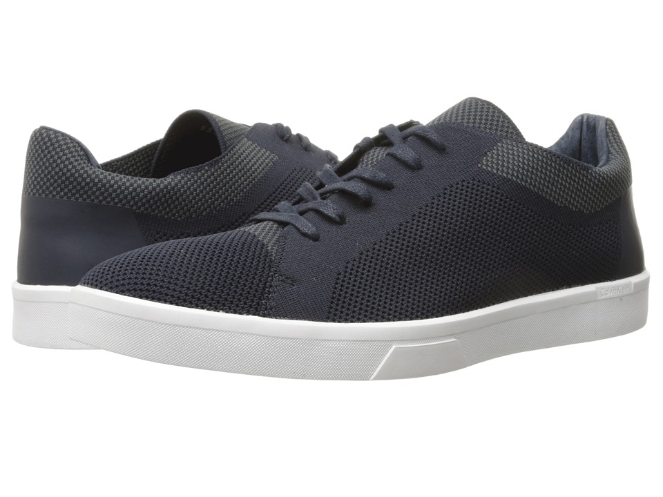 Calvin Klein Ion (Dark Navy Knit Weave) Men