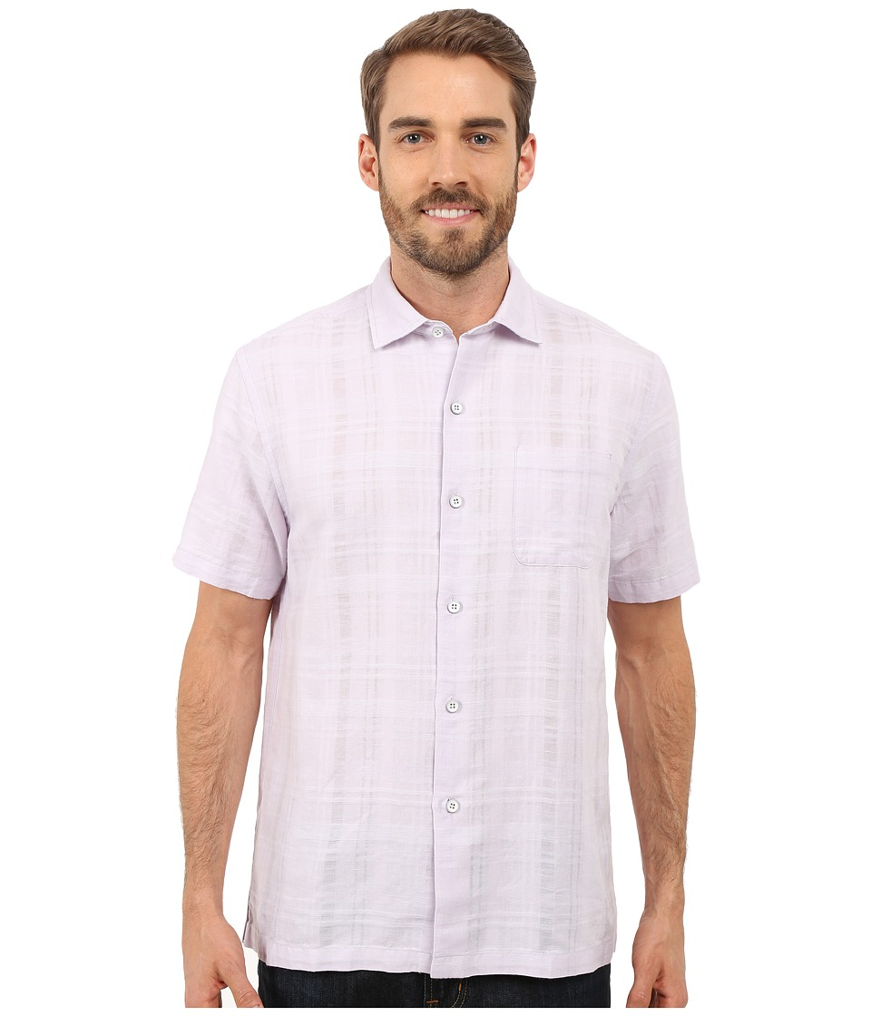 Tommy Bahama - Squarely There Camp Shirt (Loco Laven) Men's Clothing