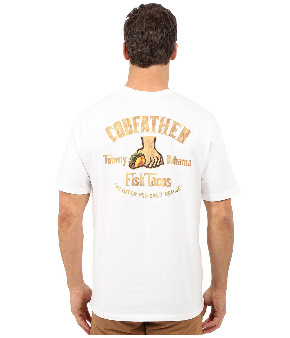 Tommy Bahama - The Codfather Tee (White) Men's T Shirt