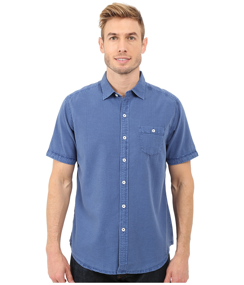 Tommy Bahama - Corvair Cruiser Camp Shirt (Dockside Blue) Men's Clothing