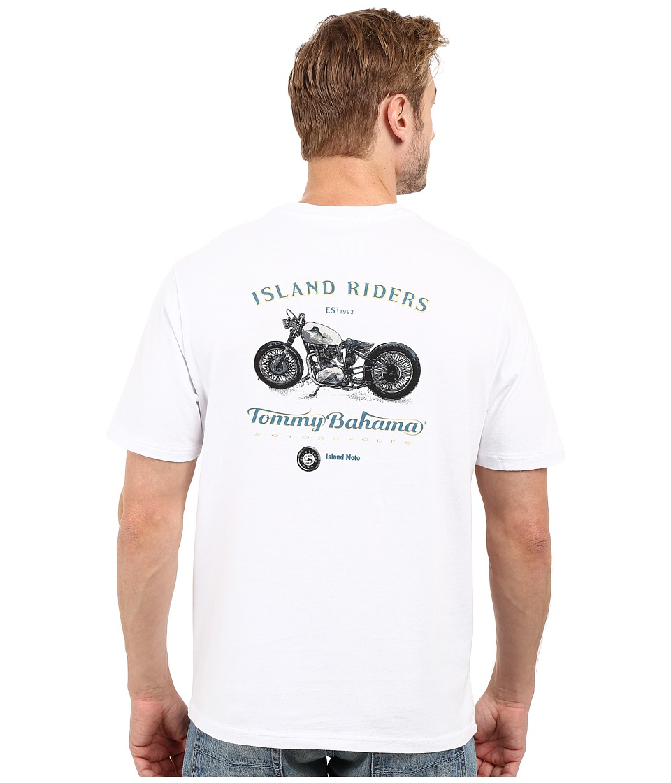 Tommy Bahama - Island Riders Tee (White) Men's T Shirt