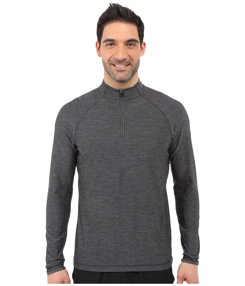 Soybu - Continuum 1/2 Zip (Graphite) Men's Long Sleeve Pullover