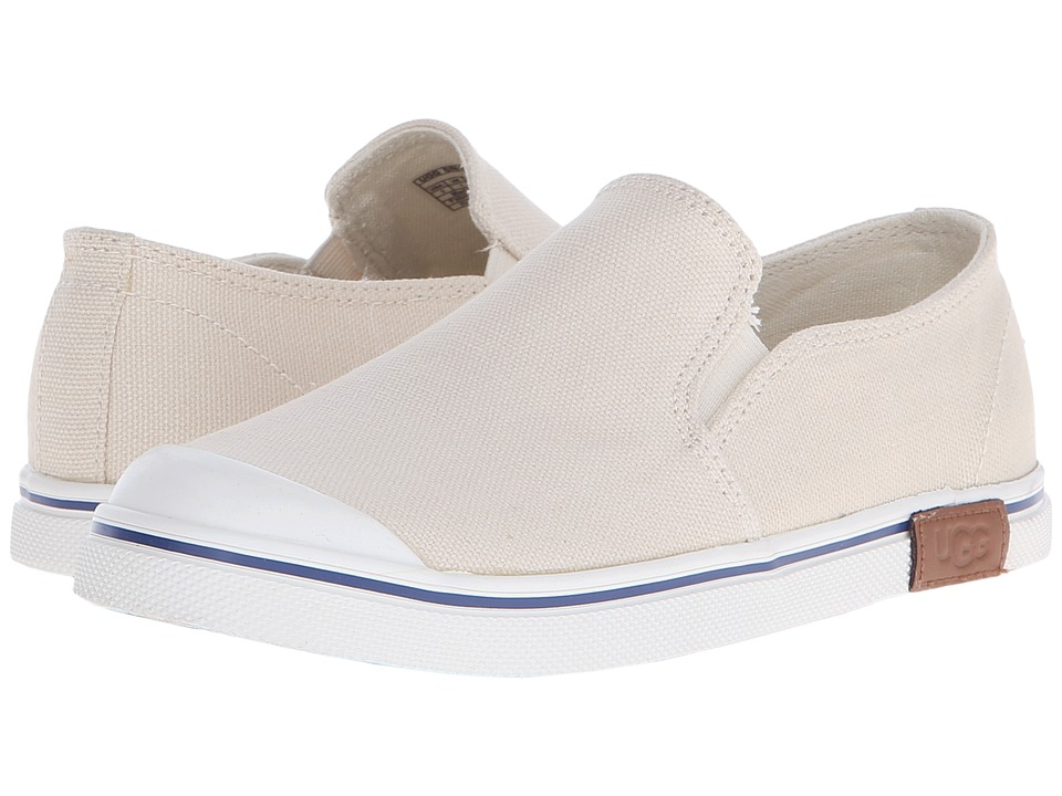 UGG Kids - Randi (Toddler/Little Kid/Big Kid) (Cream Canvas/Denim) Girls Shoes