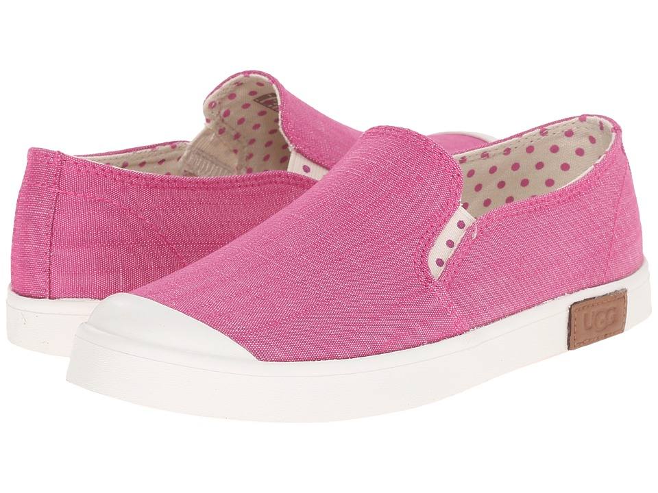 UGG Kids - Meaghan (Toddler/Little Kid/Big Kid) (Furious Fuchsia Canvas) Girls Shoes