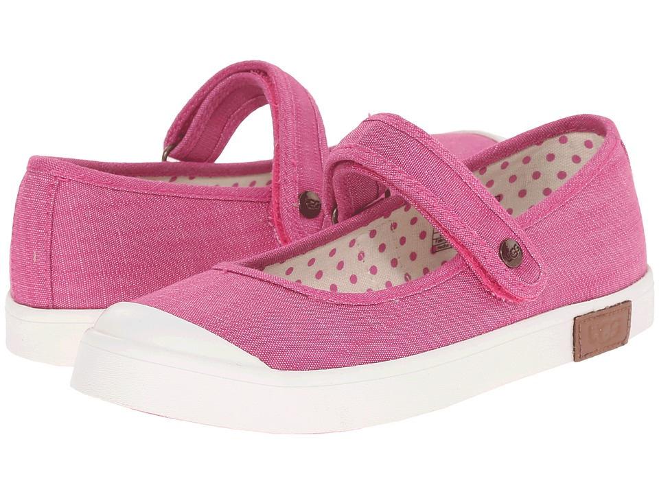 UGG Kids - Jovee (Toddler/Little Kid/Big Kid) (Furious Fuchsia Canvas) Girls Shoes