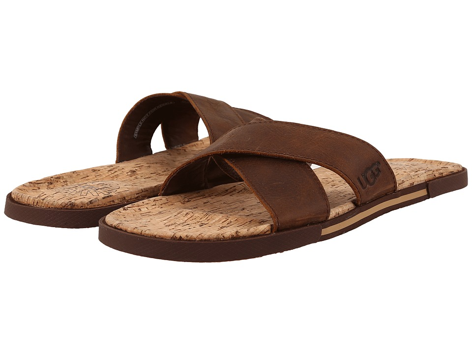 UGG - Ithan Cork (Luggage Nubuck) Men's Sandals