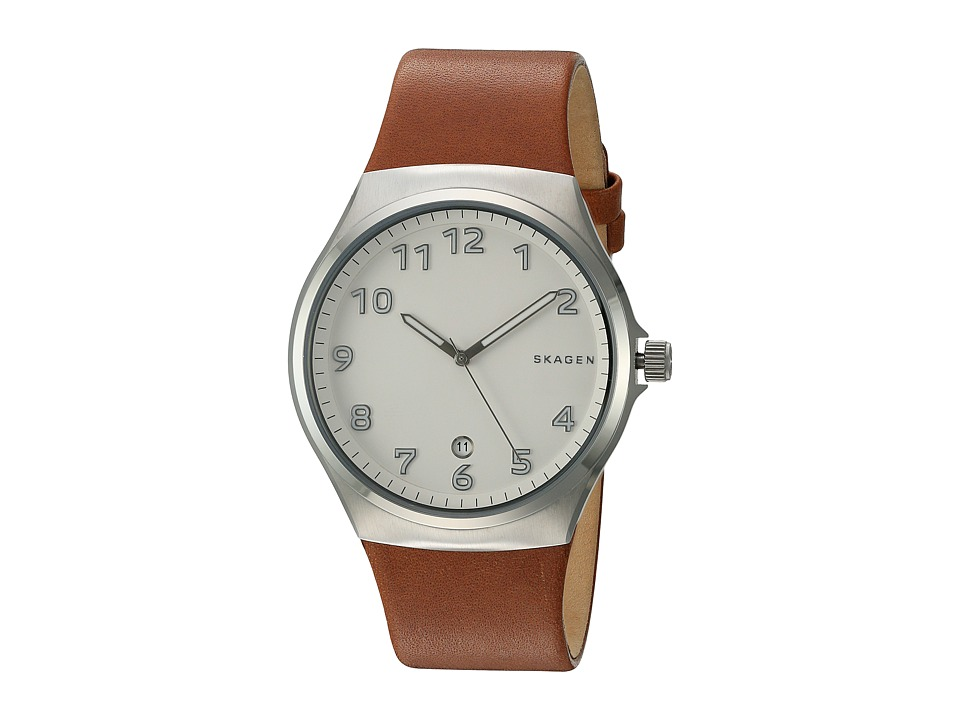 Skagen - Sundby SKW6269 (Silver/Brown) Watches