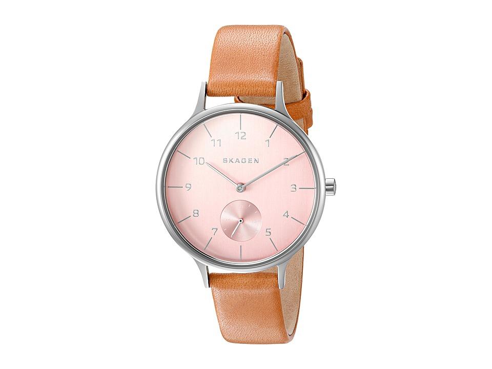 Skagen - Anita SKW2406 (Silver/Tan) Watches