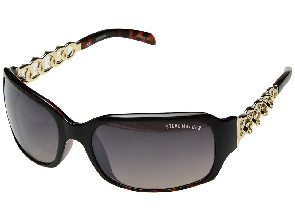 Steve Madden - London (Black/Tortoise) Fashion Sunglasses