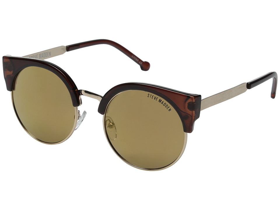 Steve Madden - Kelly (Brown) Fashion Sunglasses