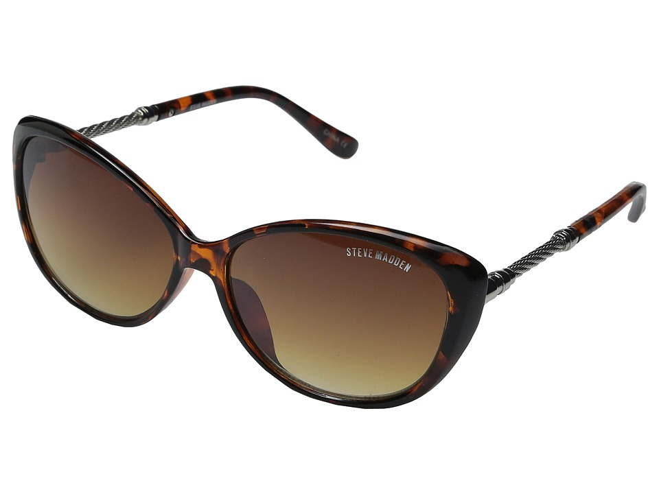 Steve Madden - Belisa (Tortoise) Fashion Sunglasses