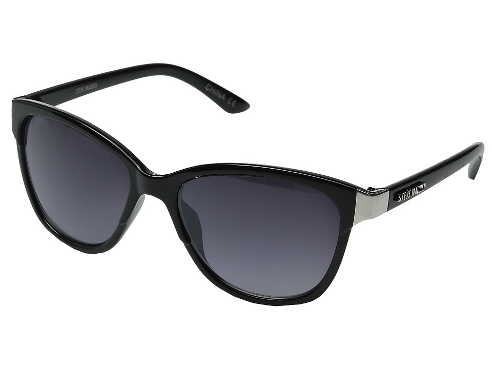 Steve Madden - Kitt (Black) Fashion Sunglasses