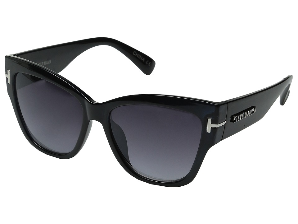 Steve Madden - Gorgeous (Black) Fashion Sunglasses