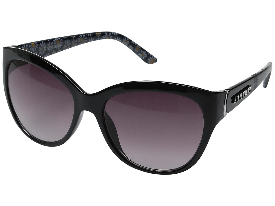Steve Madden - Austin (Black Flower) Fashion Sunglasses