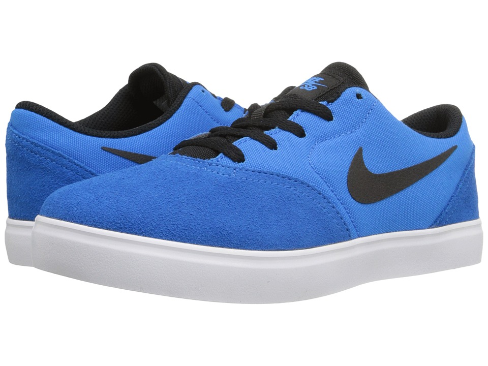 Nike SB Kids - SB Check (Little Kid) (Photo Blue/Black) Boys Shoes