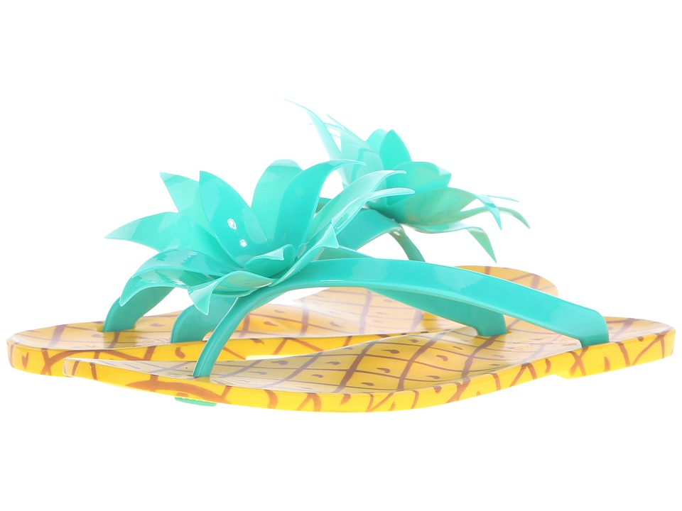 Kate Spade New York - Flynn (Green Rubber) Women's Shoes