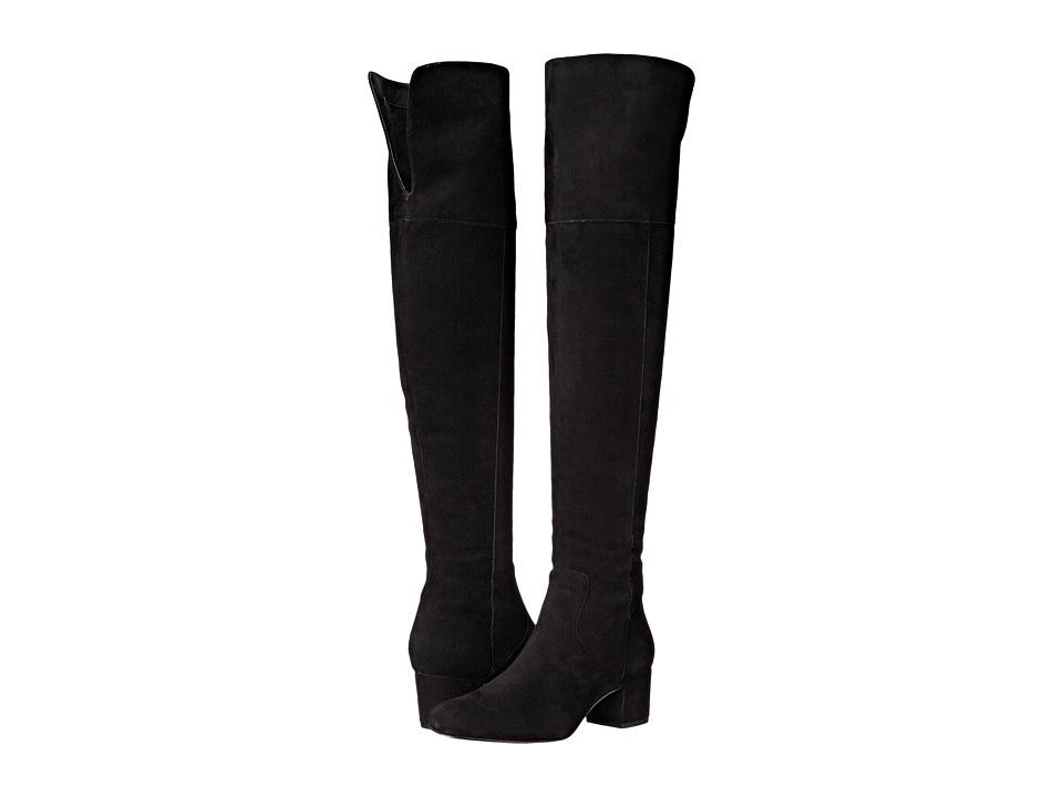 Sam Edelman Elina Black Suede Boots