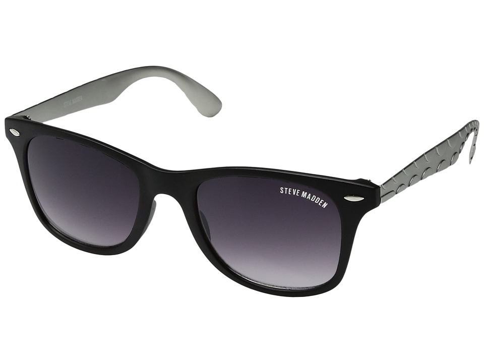Steve Madden - Austin (Black) Fashion Sunglasses