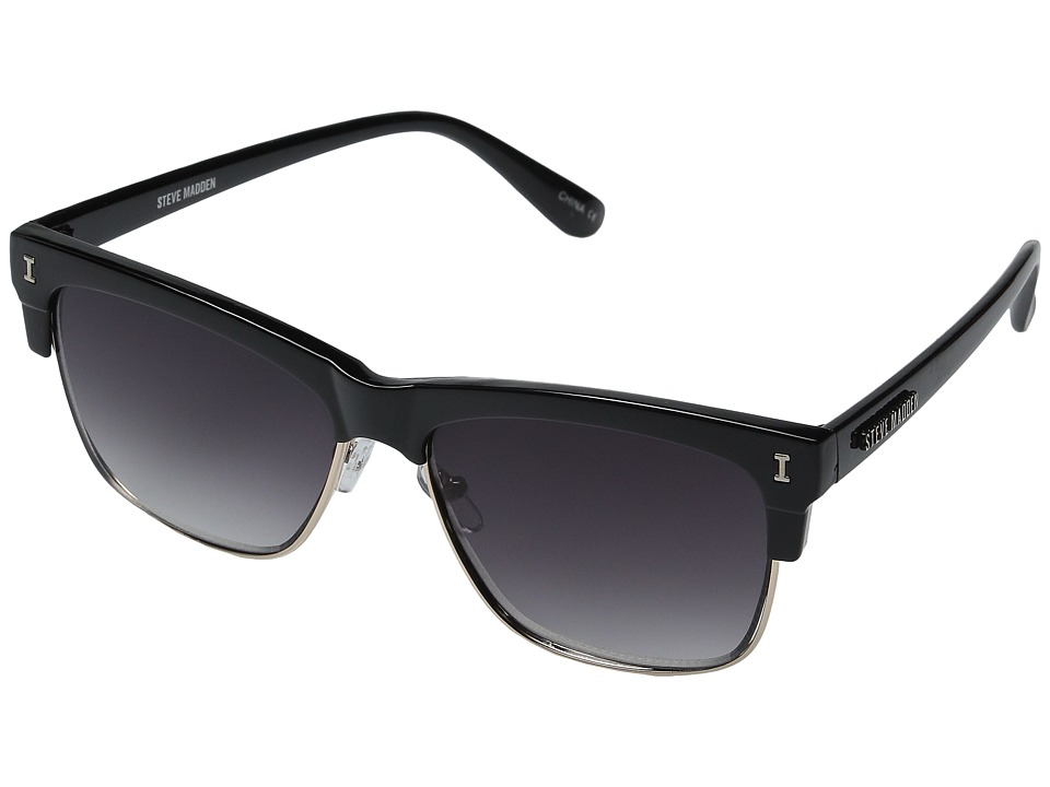 Steve Madden - Annee (Black/Black) Fashion Sunglasses