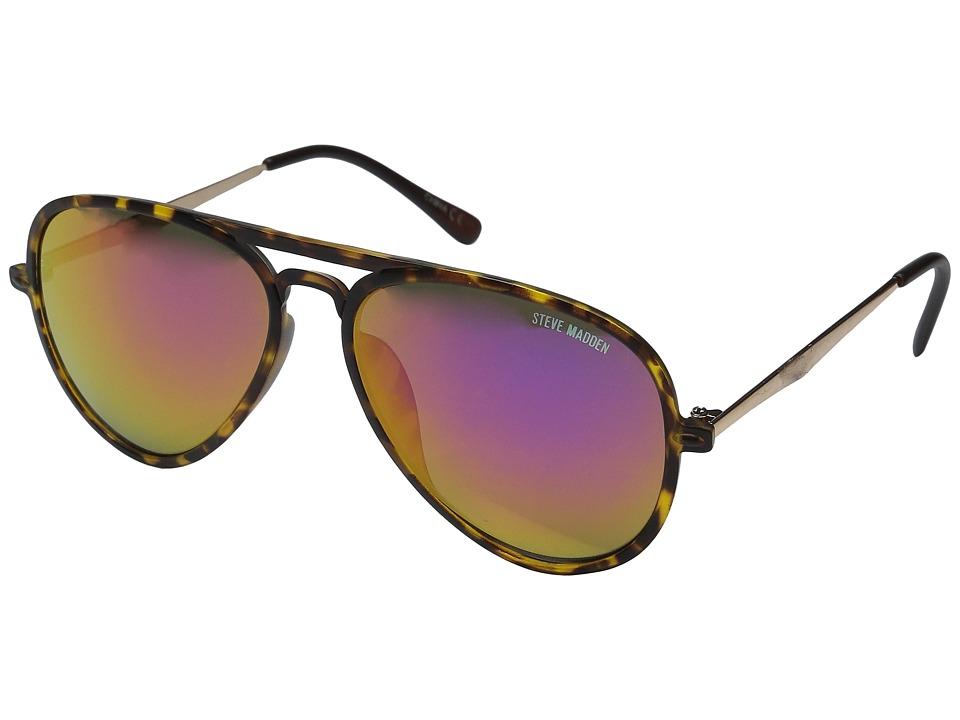Steve Madden - Robbie (Gold) Fashion Sunglasses