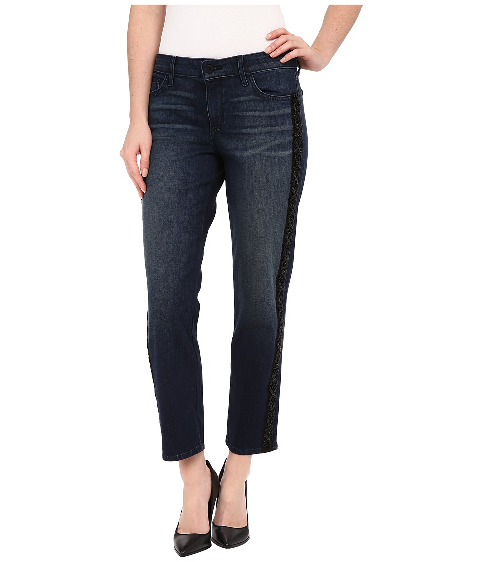 CJ by Cookie Johnson Pearl Straight Jeans w/ Beaded Sequin Trim in Bootsie (Bootsie) Women's Jeans