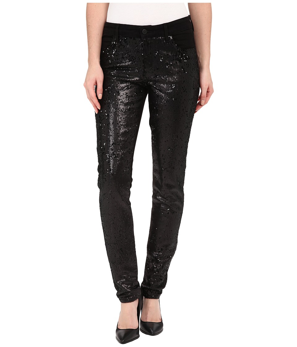 CJ by Cookie Johnson - Peace Skinny Jeans w/ Sequin in Black (Black) Women's Jeans
