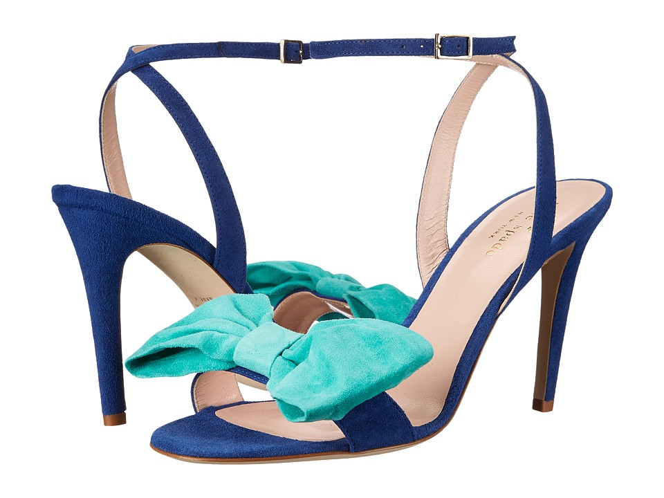 Kate Spade New York - Idella (Cobalt Kid Suede/Carribean Sky Kid Suede) Women