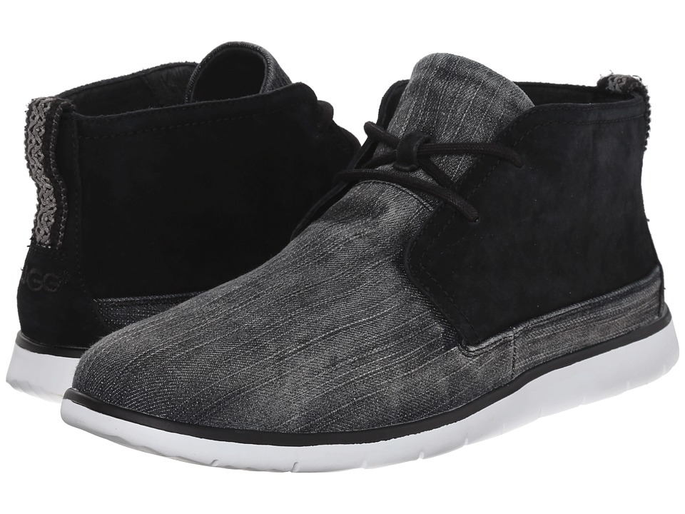 UGG - Freamon Washed Denim (Black Denim) Men