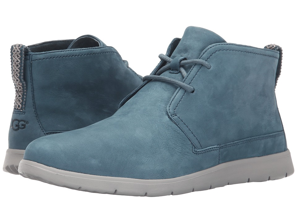 UGG - Freamon Capra (Racing Green Leather) Men