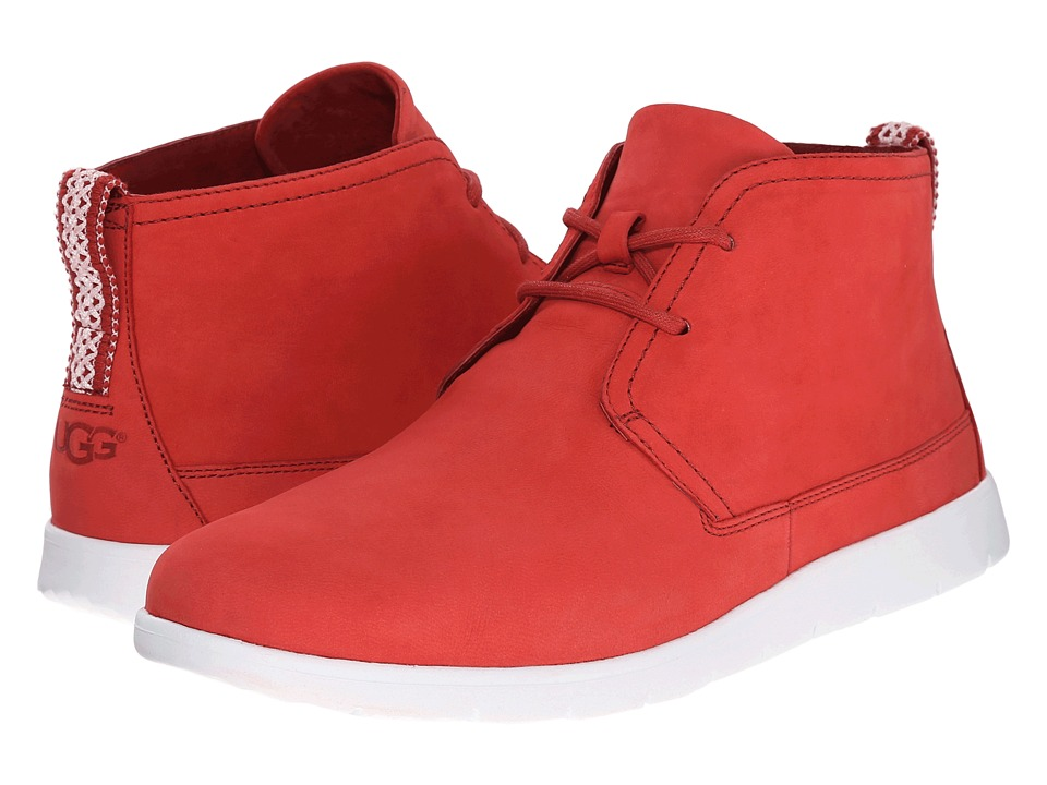 UGG - Freamon Capra (Matador Red Leather) Men's Lace-up Boots