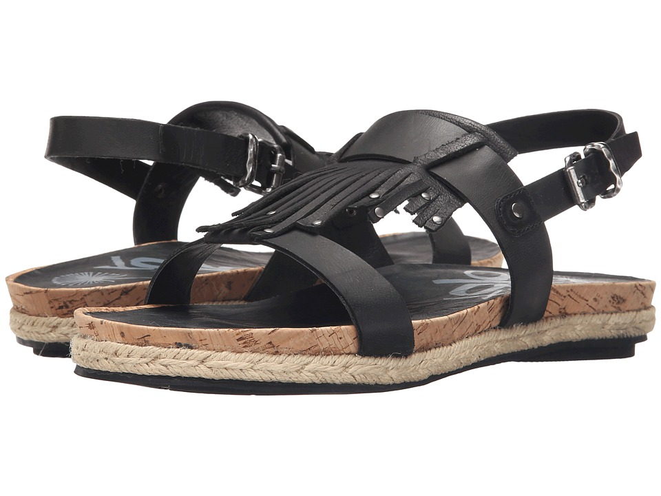 OTBT - Tourist (Black) Women's Sandals