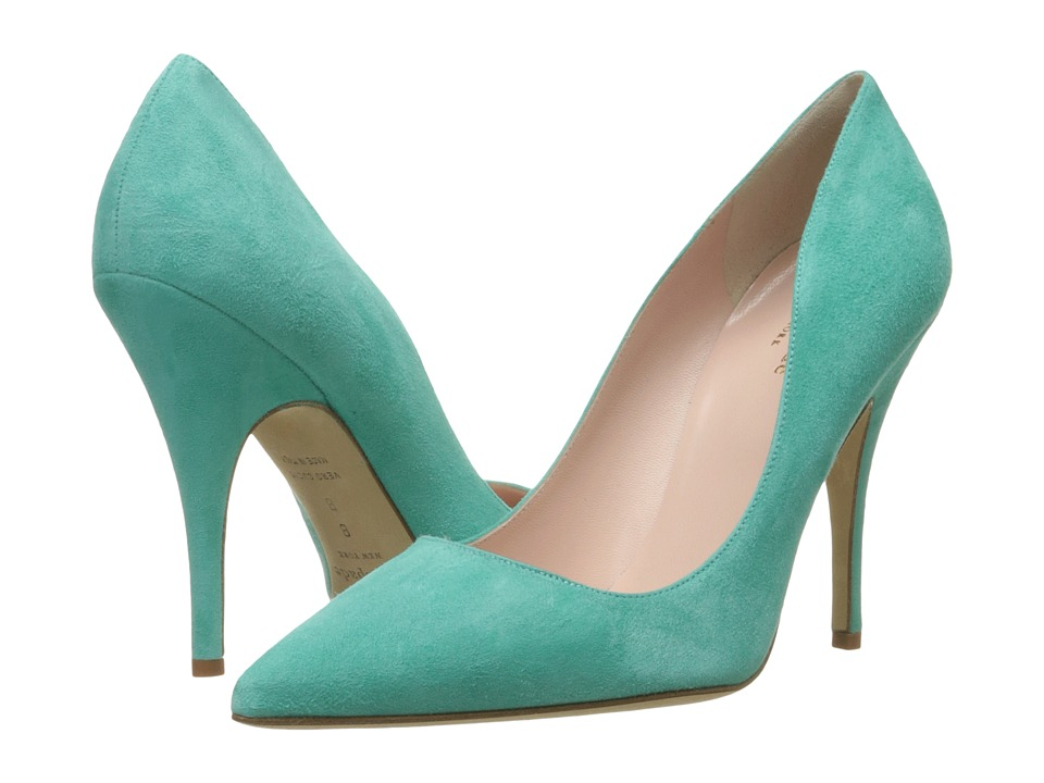 Kate Spade New York - Licorice (Carribean Sky Kid Suede) High Heels