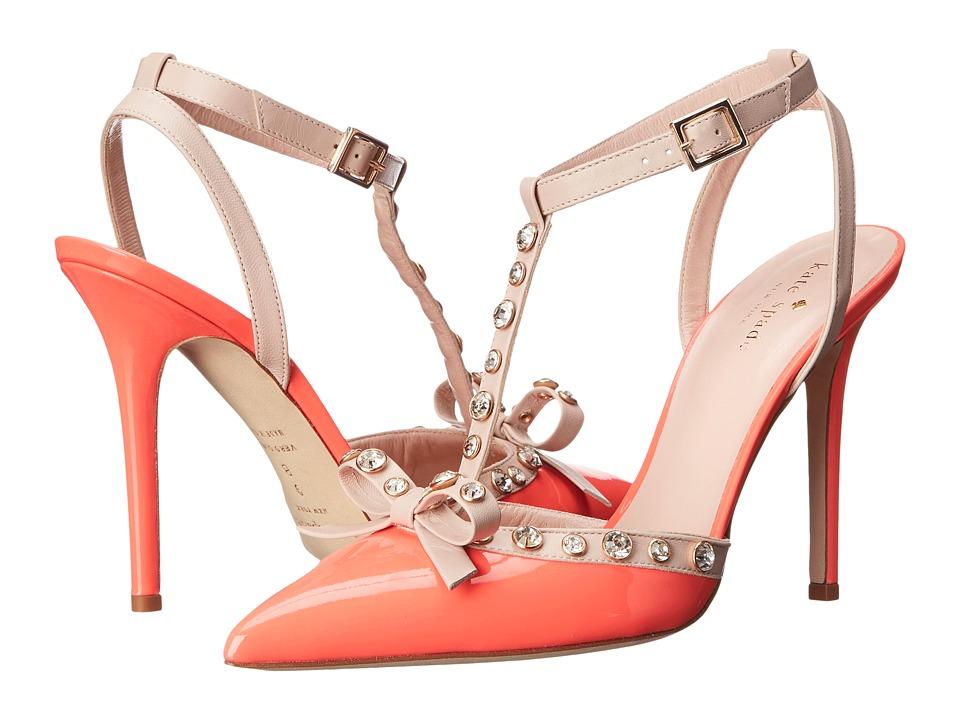 Kate Spade New York Lydia Geranium Patent-Pale Pink Nappa Womens Shoes
