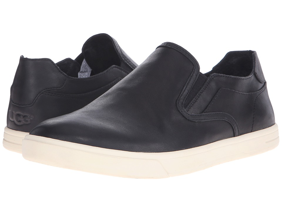 UGG - Tobin (Black Leather) Men