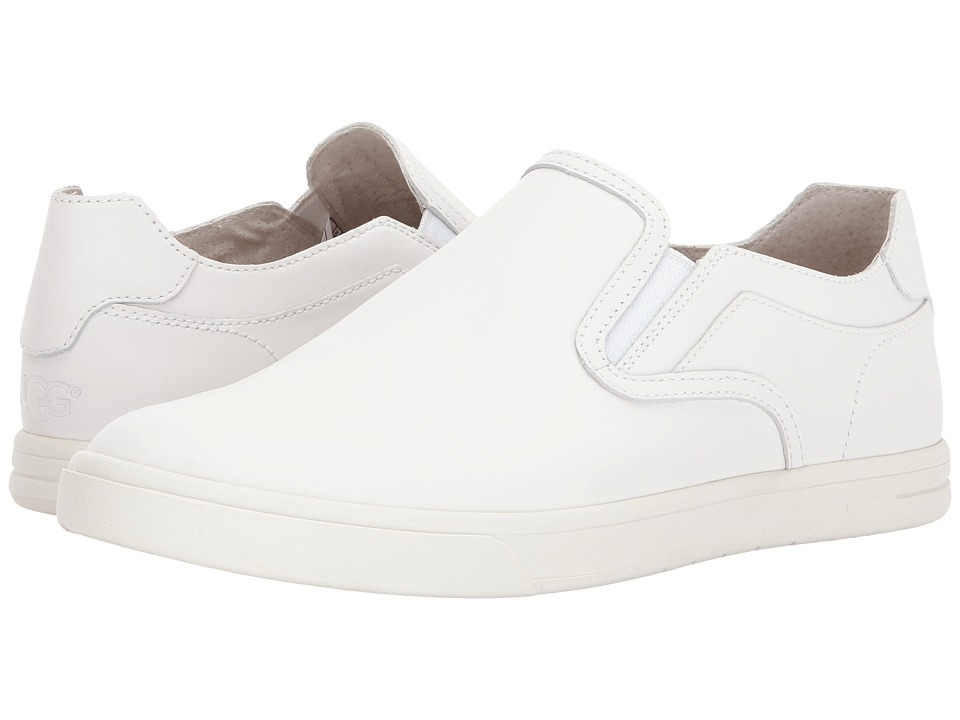 UGG - Tobin (White Wall Leather) Men's Slip on Shoes