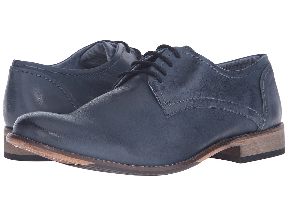 Lotus - Hanbury (Navy Leather) Men's Lace Up Cap Toe Shoes