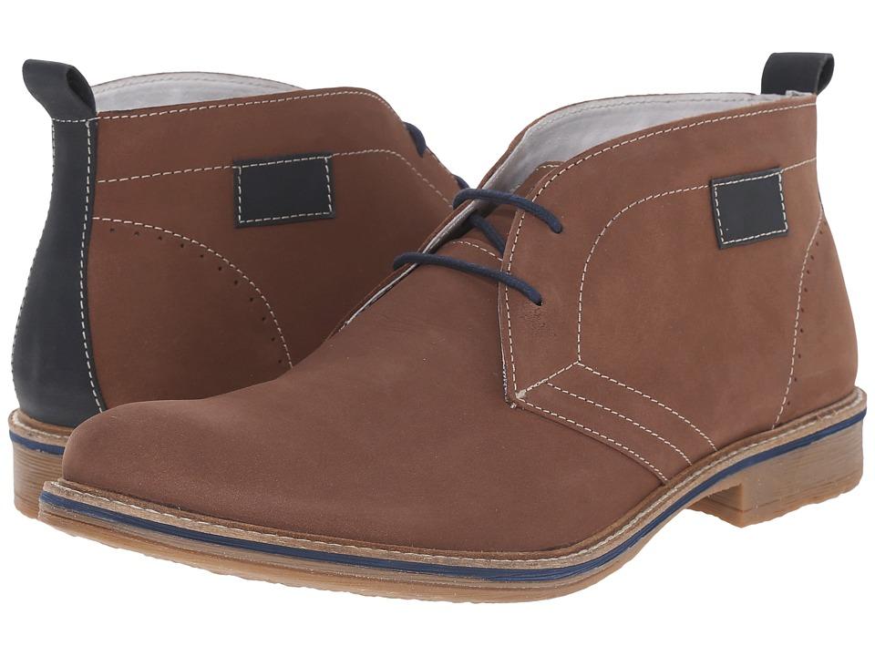 Lotus - Goodridge (Brown Nubuck) Men's Lace Up Cap Toe Shoes