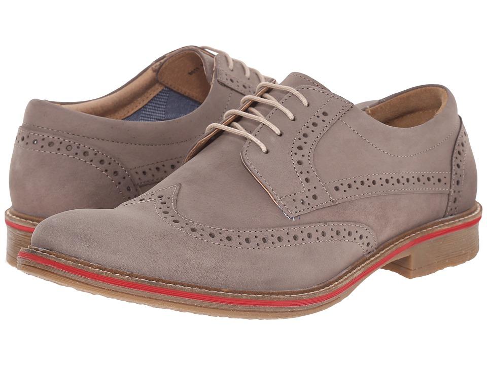Lotus - Salisbury (Grey Nubuck) Men's Lace Up Cap Toe Shoes
